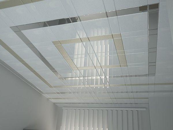 кассетные подвесные потолочные системы