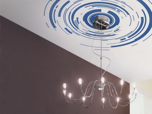 виниловые наклейки на потолок