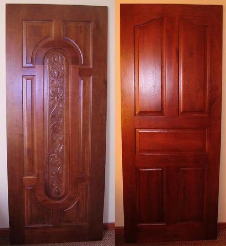 Модели деревянных дверей