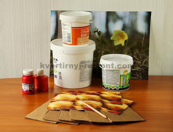 Фото 2 Материалы для имитации кирпичной кладки