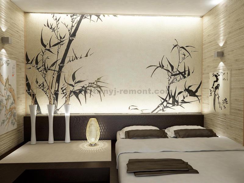 Фото: Спальня в светлых тонах