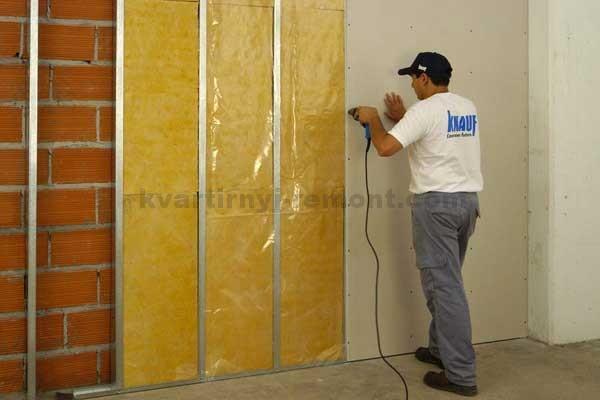 Фото: Звукоизоляция стен