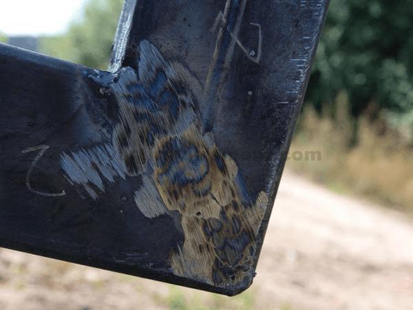 Фото сварки каркаса обрезанными под 45 градусов трубами