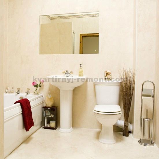 Ванна в стиле минимализма