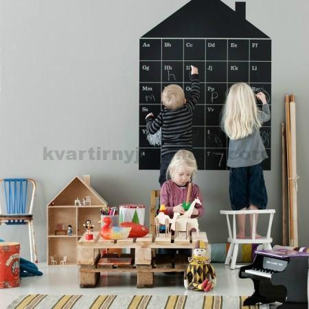 Серый тон в детской комнате