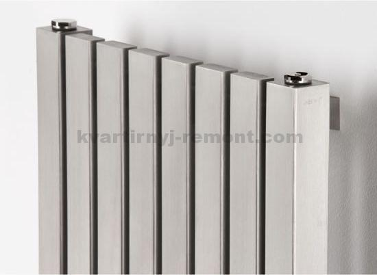 Секционная металлическая батарея отопления