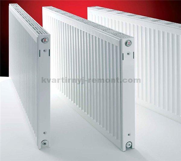 Панельная металлическая батарея отопления