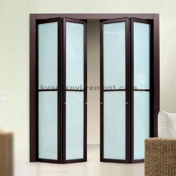 Дверь-гармошка или складная дверь
