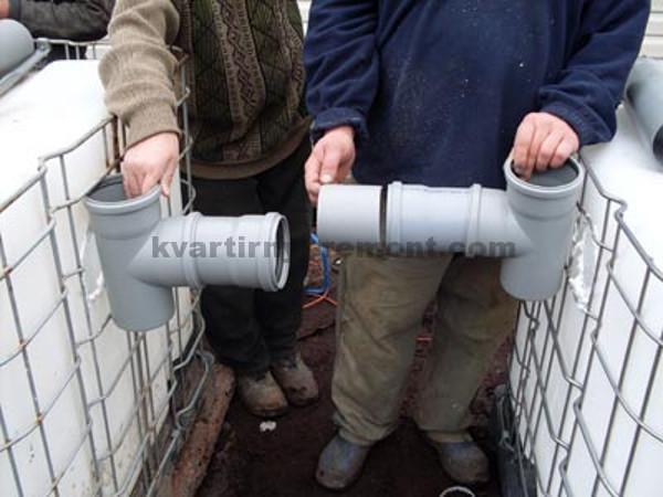 Подбираем трубы для канализации