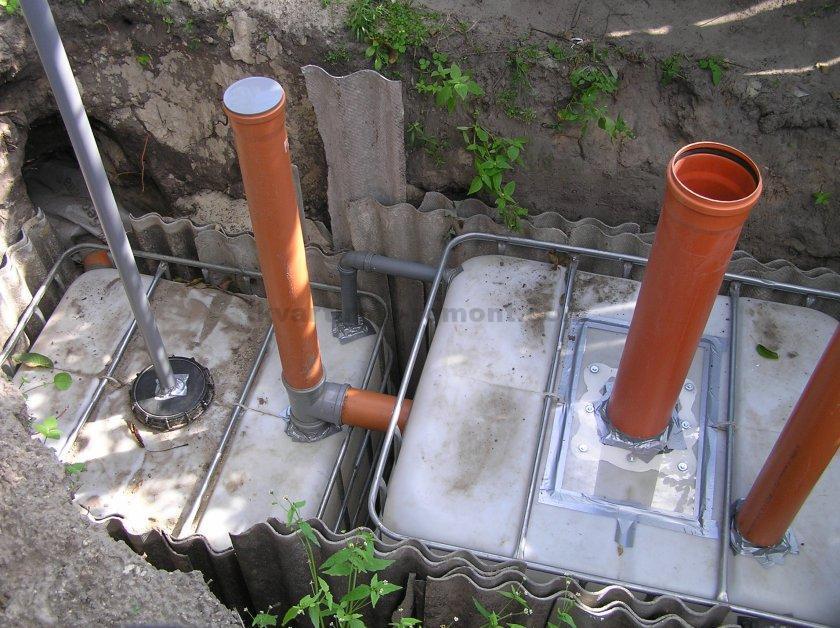 Как сделать на даче канализацию своими руками