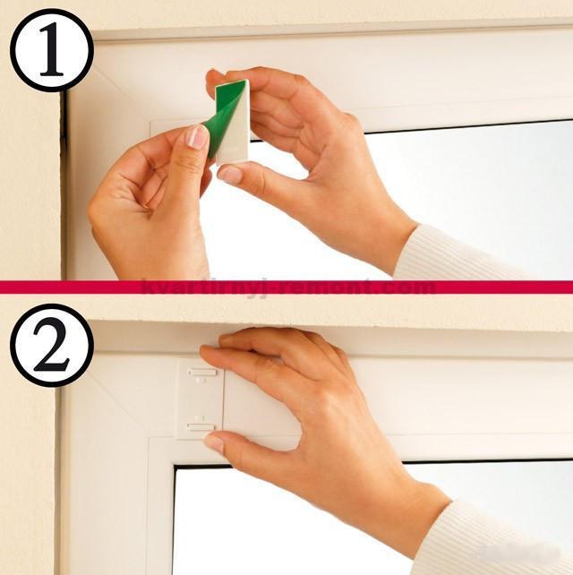 Как своими руками установить рулонные шторы