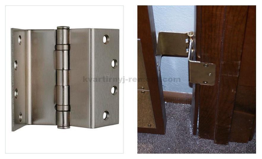 Виды дверных петель для межкомнатных дверей - всё о межкомна.