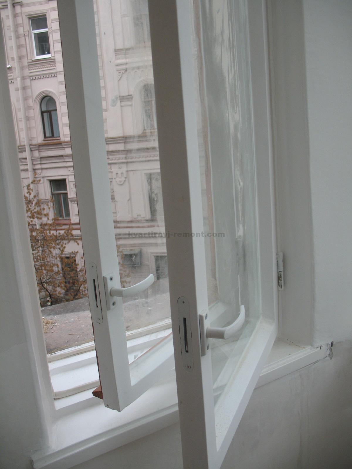 Деревянные окна обновить своими руками