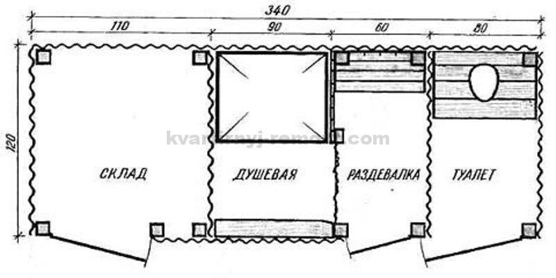 Как построить душ и туалет на даче своими руками чертежи 92