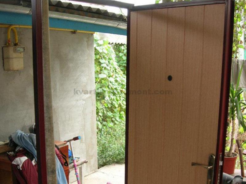 Как самому сделать железную дверь