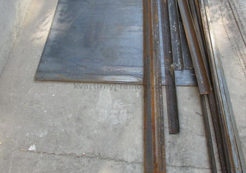 Входная дверь своими руками из металла