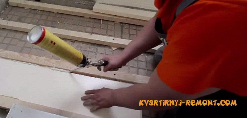 Чем утеплить балкон изнутри и как: видео-инструкция по монта.