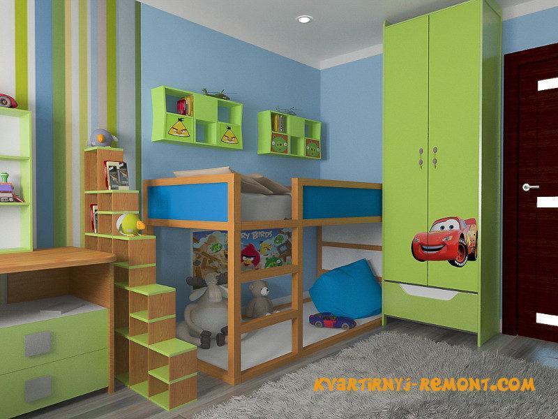 dizayn-detskoy-komnaty-dlya-doshkolnika