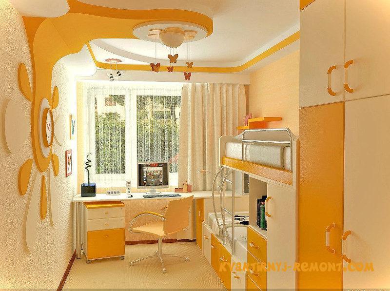 Дизайн комнаты плюс детская