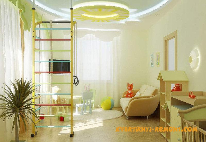 dizayn-potolka-v-detskoy-komnate-1
