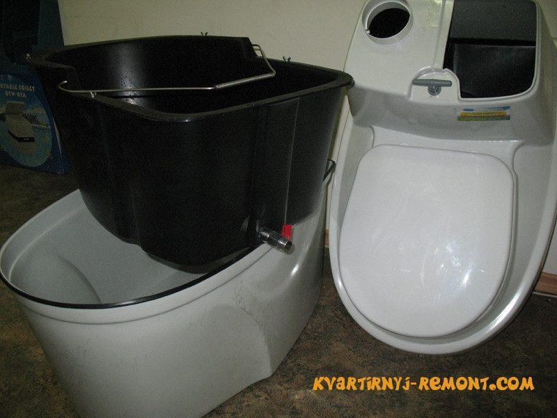 очистная емкость торфяного туалета