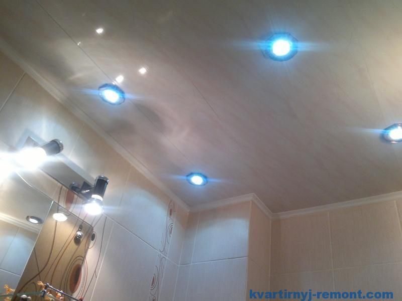 Светильники на подвесном потолке