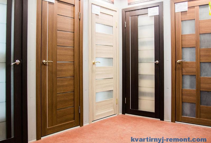 Выбор ламинированной двери