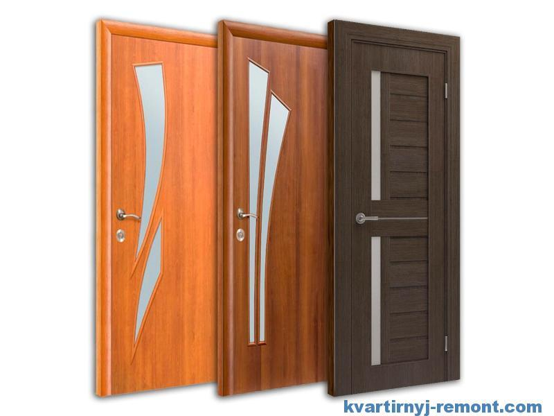 Многообразие ламинированных дверей