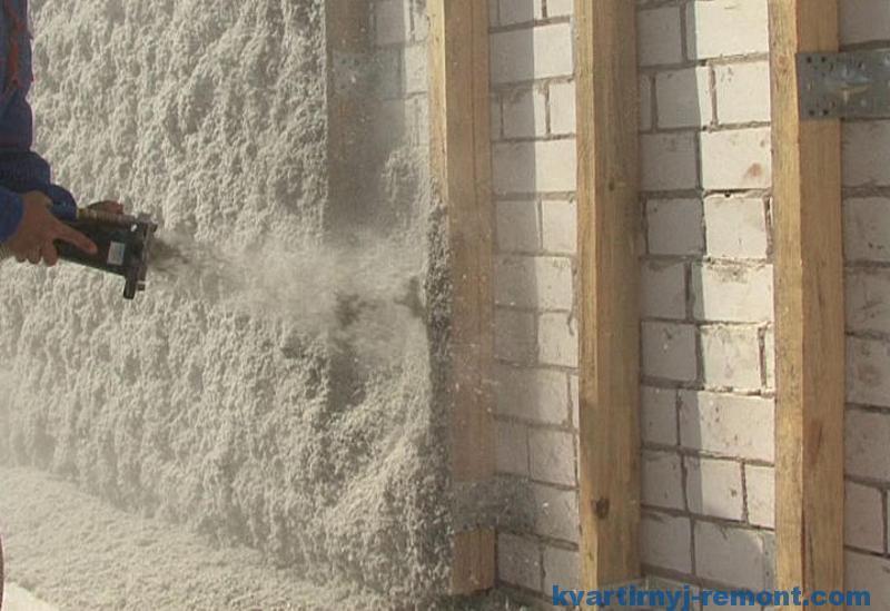 Утепление внешней стены