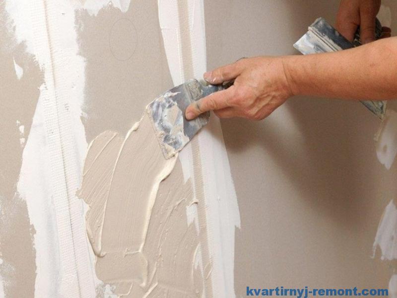 Шпаклюем стены