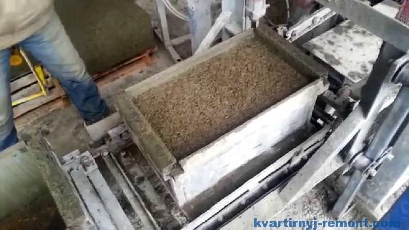 Производство на станке