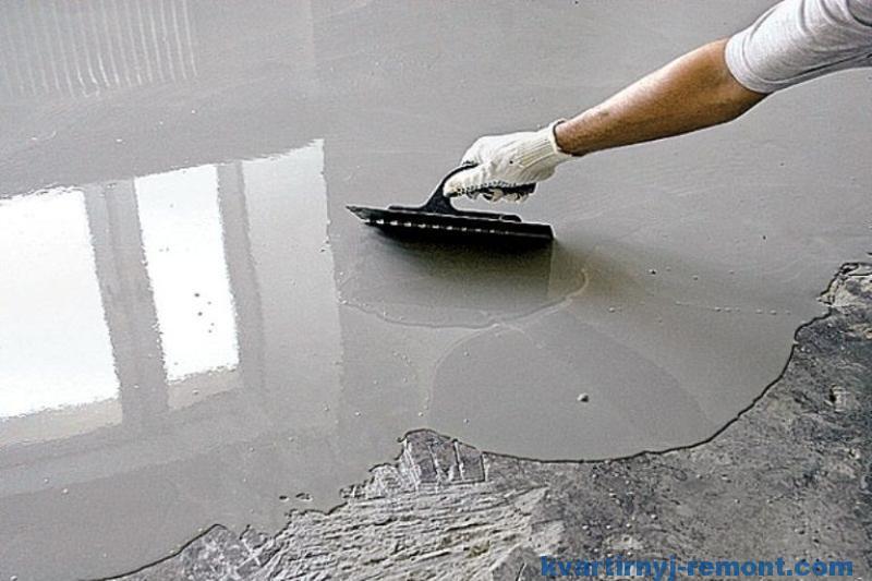 Самонивелир цементный