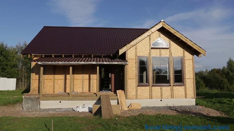 Строительство правильного каркасного дома