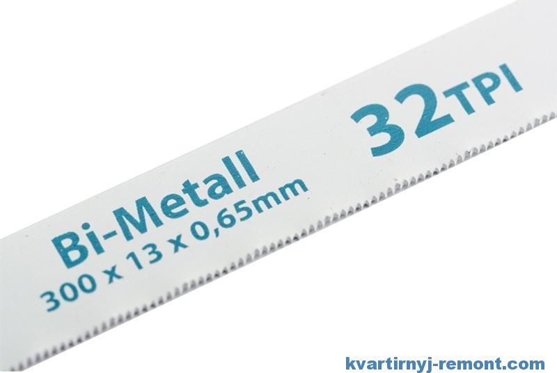 Биметаллические полотна по металлу для ножовки