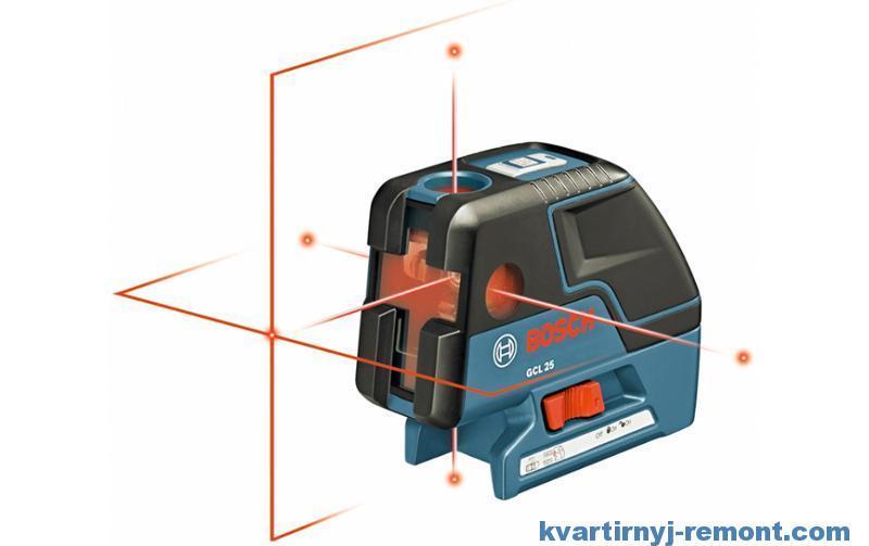 Комбинированный лазерный уровень Bosch GCL 25 Professional