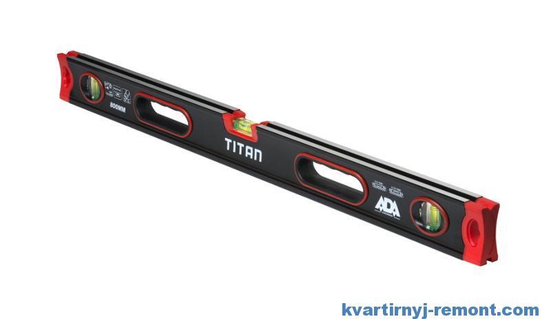 Уровень строительный ADA Titan 800