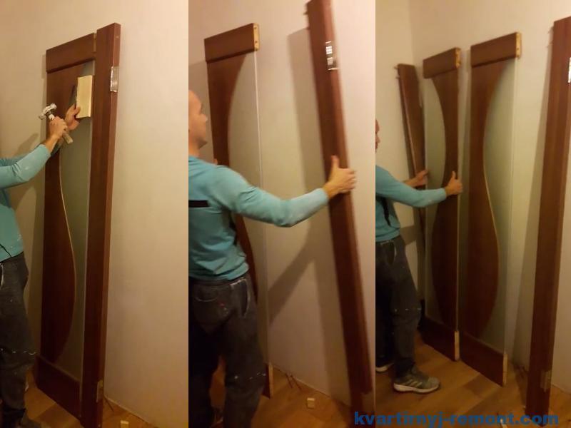 Разбираем межкомнатную дверь