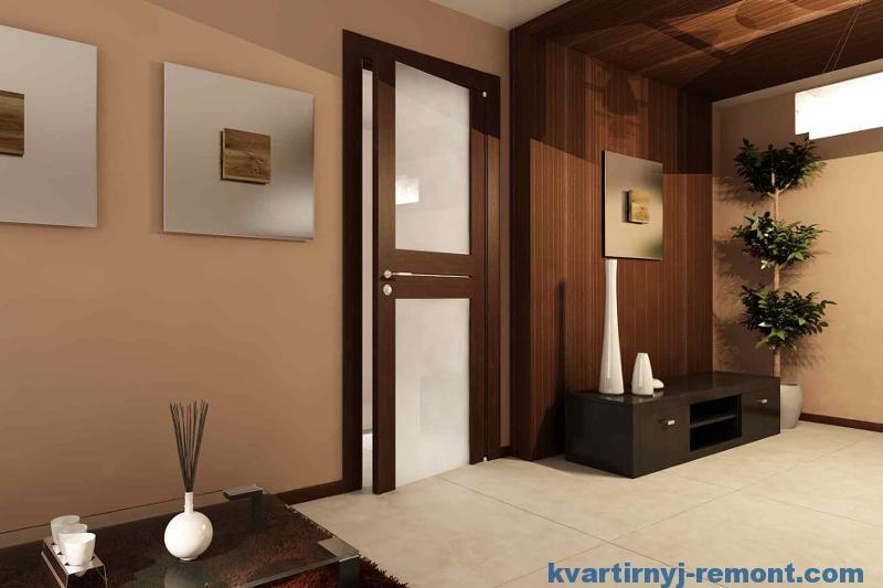 Пример сложной дизайнерской двери