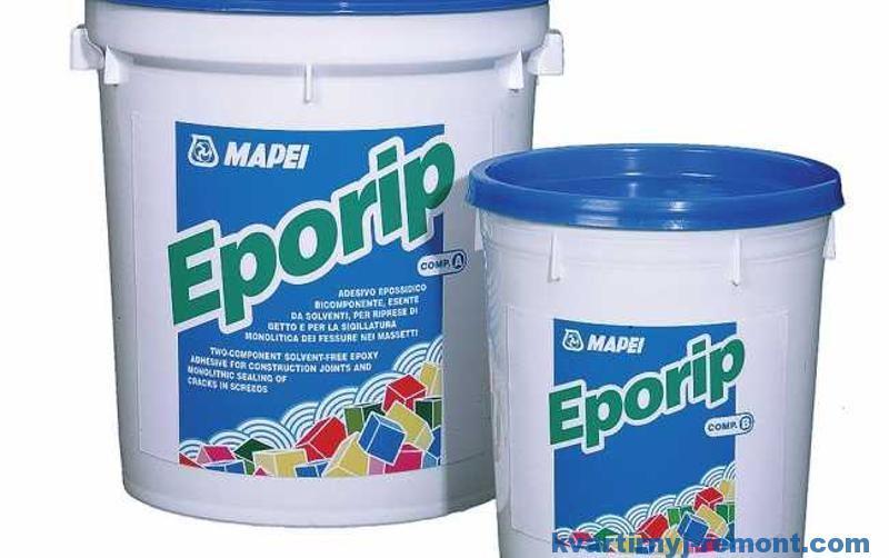 Эпоксидный состав для заделки трещин в бетоне