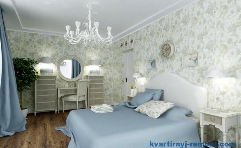 Спокойные цвета в спальне