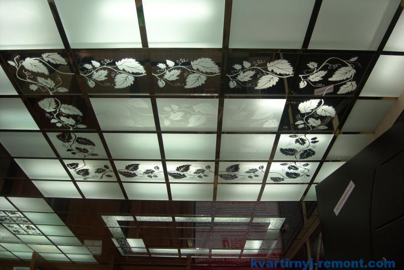 Стильный потолок Armstrong