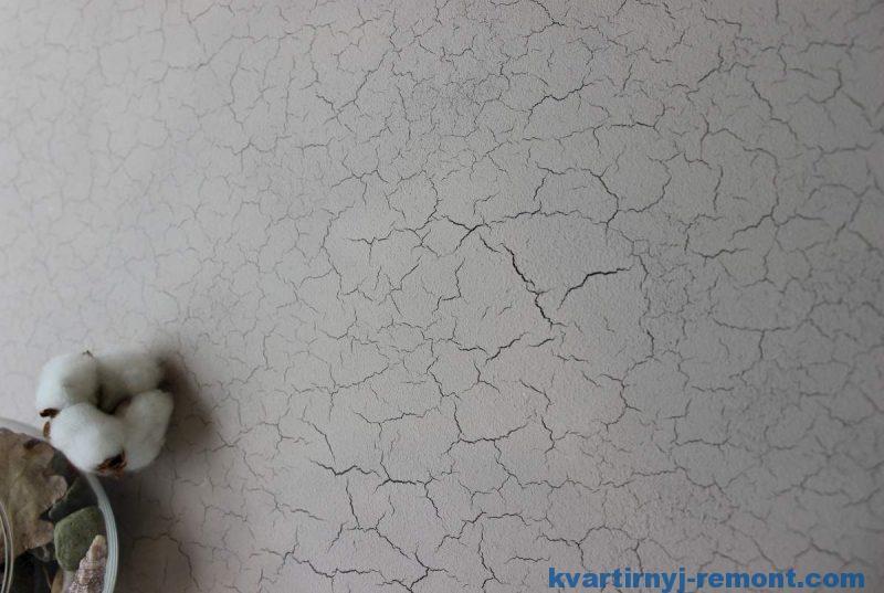 Имитация сухой стенв