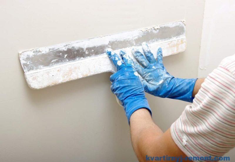 Подготовительная штукатурка стен дома