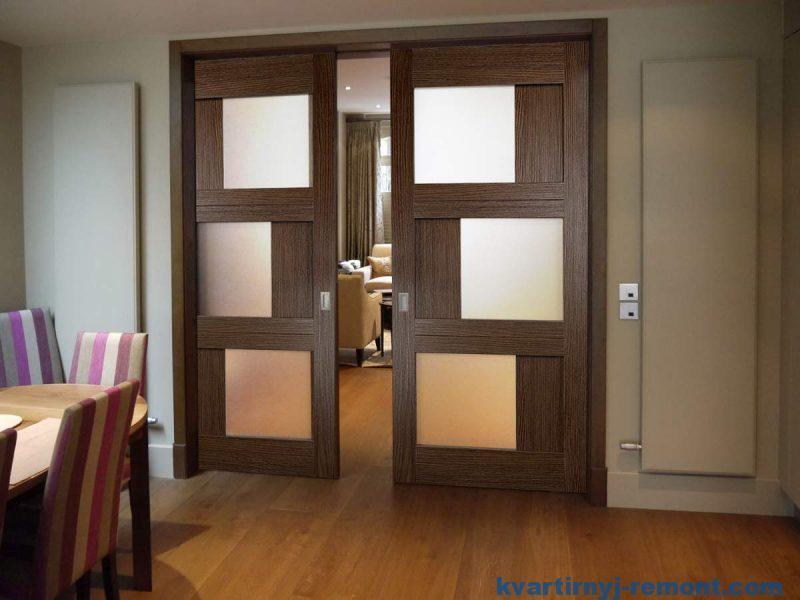 Межкомнатная раздвижная дверь (дверь купе)