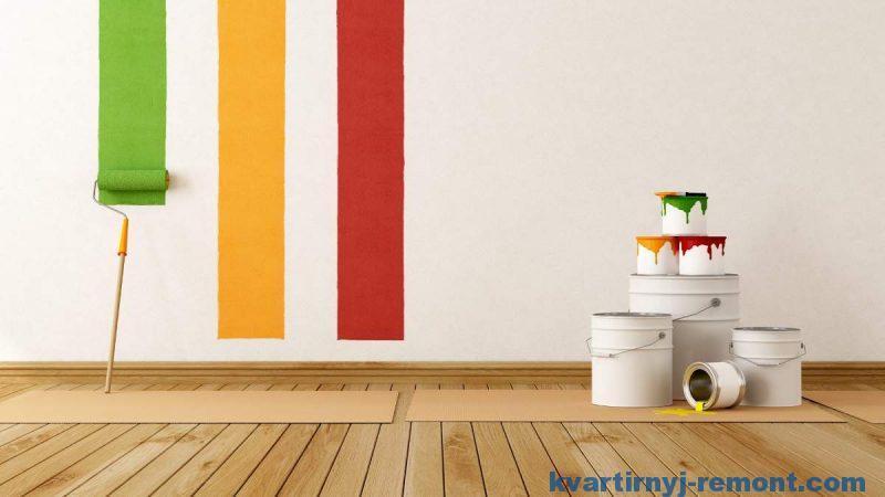 Выбираем краску для стен