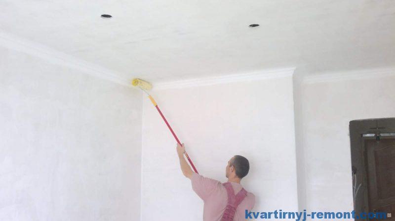 Грунтовка для потолка под покраску