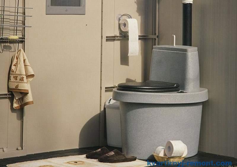 Биотуалет для дачи без запаха и откачки
