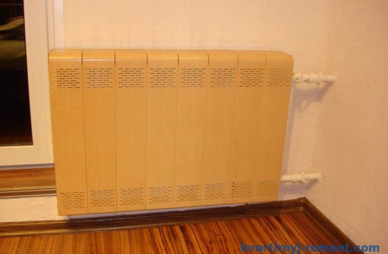 Очень плохой экран для радиатора отопления