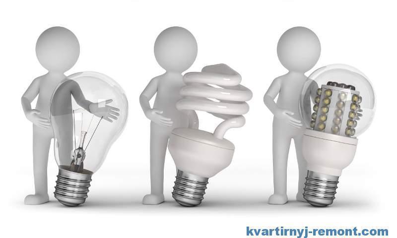 Какие лампочки лучше поставить дома
