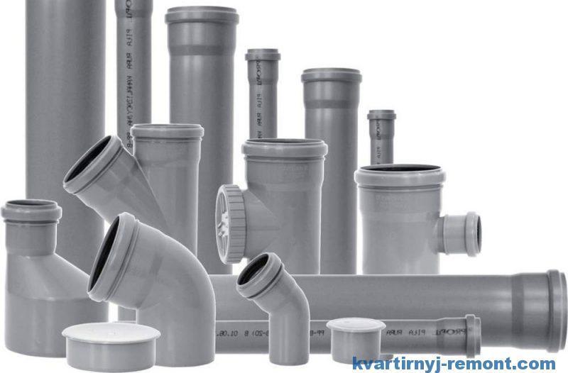 Различные фитинги для соединения труб